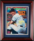 Autographs:Others, 1985 Billy Martin Signed Sports Illustrated Magazine. ...