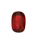 Estate Jewelry:Unmounted Gemstones, Unmounted Ruby The cushion-shaped ruby measure...