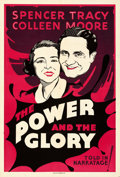 Movie Posters:Drama, The Power and the Glory (Fox, 1933). Folded, Very Fine-.