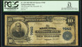 Slocomb, AL - $10 1902 Plain Back Fr. 625 The Slocomb National Bank Ch. # 7940 PCGS Apparent Fine 12.</