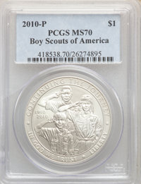 2001-D $1 Buffalo Silver Dollar MS69 PCGS. This lot will also include the following: 2002-P $1 Olympics - Salt Lake Ci...