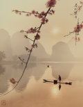Photographs, Don Hong-Oai (Chinese, 1929-2004). Spring Lights the Fishing Boat, 1995. Dye coupler. 13-1/4 x 10-5/8 inches (33.7 x 27....