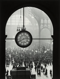 Alfred Eisenstaedt (American, 1898-1995) Farewell to Servicemen, Pennslyvania Station, New York City, 1