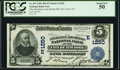 New York, NY - $5 1902 Date Back Fr. 593 The Mechanics & Metals National Bank Ch. # (E)1250 PCGS About