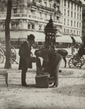 Photographs, Jean Eugène Auguste Atget (French, 1857-1927). Shoeshine in Paris, 1899. Gelatin silver, printed later by Berenice Abbot...