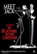 """Movie Posters:Animation, The Nightmare Before Christmas (Touchstone, 1994). Rolled, Very Fine/Near Mint. Australian One Sheets (2) (27.5"""" X 39..."""