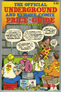 Books:Reference, Underground Comix Price Guide #1 (Boatner Norton Press, 1982)Condition: VF/NM....