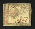 Colonial Notes:Continental Congress Issues, Continental Currency January 14, 1779 $45 New....