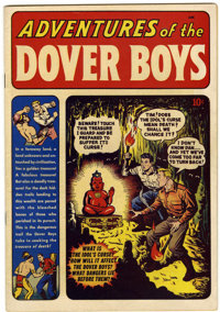 Adventures of the Dover Boys #1 Windy City pedigree (Archie, 1950) Condition: VF/NM