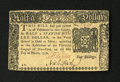 Colonial Notes:New York, New York March 5, 1776 $1/2 Choice About New....