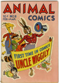 Golden Age (1938-1955):Funny Animal, Animal Comics #2 (Dell, 1943) Condition: FN-....