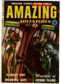 Golden Age (1938-1955):Science Fiction, Amazing Adventures #2 (Ziff-Davis, 1951) Condition: FN....