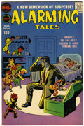 Silver Age (1956-1969):Horror, Alarming Tales #4 (Harvey, 1958) Condition: VF- 7.5....