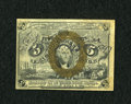 Fractional Currency:Second Issue, Fr. 1232 5c Second Issue with Morgan Courtesy Autograph Choice About New....