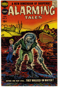 Golden Age (1938-1955):Horror, Alarming Tales #3 (Harvey, 1958) Condition: VF....