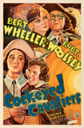 "Movie Posters:Comedy, Cockeyed Cavaliers (RKO, 1934). Folded, Very Fine+. One Sheet (27"" X 41""). From the Mike Kaplan Collection.. ..."