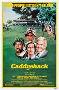 "Movie Posters:Comedy, Caddyshack (Orion, 1980). Folded, Very Fine+. One Sheet (27"" X 41""). Comedy.. ..."