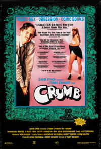 "Crumb (Sony, 1995). Rolled, Very Fine-. One Sheet (27"" X 40"") SS. Documentary"