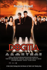 """Dogma & Other Lot (Lions Gate, 1999). Rolled, Very Fine. One Sheets (2) (27"""" X 40"""") SS. Comedy. ... (Total..."""