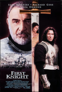"First Knight & Other Lot (Columbia, 1995). Rolled, Overall: Fine/Very Fine. One Sheets (2) (26.75"" X 39.75""..."