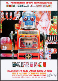 "Kriki Exhibition (2003). Rolled, Very Fine. Autographed Poster (13.75"" X 19""). Miscellaneous"