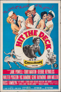 """Movie Posters:Musical, Hit the Deck & Other Lot (MGM, 1955). Folded, Fine/Very Fine. One Sheets (2) (27"""" X 41""""). Musical.. ... (Total: 2 Items)"""