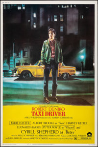 "Taxi Driver (Columbia, 1976). Rolled, Very Fine-. Poster (40"" X 60""). Guy Pellaert Artwork. Crime"