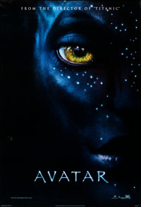 """Avatar (20th Century Fox, 2009). Rolled, Very Fine. International One Sheet (27"""" X 40"""") DS Advance Style A. Sc..."""