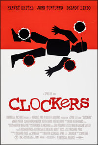 "Clockers (Universal, 1995). Rolled, Very Fine. One Sheet (26.75"" X 39.75"") DS. Crime"