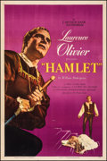 "Movie Posters:Academy Award Winners, Hamlet (Universal International, 1949). Very Fine- on Linen. One Sheet (27"" X 41""). Academy Award Winners.. ..."