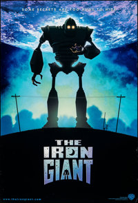 "The Iron Giant (Warner Bros., 1999). Rolled, Very Fine. International One Sheet (27"" X 40"") SS. Animation"