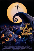 "Movie Posters:Animation, The Nightmare Before Christmas (Touchstone, 1993). Rolled, Very Fine+. One Sheet (27"" X 40"") DS. Animation.. ..."