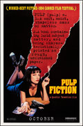 """Movie Posters:Crime, Pulp Fiction (Miramax, 1994). Rolled, Very Fine. One Sheet (27"""" X 41"""") SS Advance. Crime.. ..."""