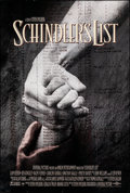 """Movie Posters:Drama, Schindler's List (Universal, 1993). Rolled, Very Fine. One Sheet (27"""" X 40"""") DS. Drama.. ..."""