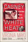 "Movie Posters:Film Noir, White Heat (Warner Bros., 1949). Very Fine on Linen. One Sheet (27"" X 41""). Film Noir.. ..."