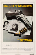 "Movie Posters:Action, The Getaway (National General, 1972). Folded, Very Fine-. Autographed One Sheet (27"" X 41""). Action.. ..."