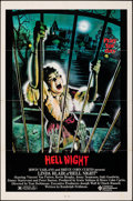 """Movie Posters:Horror, Hell Night & Other Lot (Compass International, 1981). Folded, Very Fine-. One Sheets (2) (27"""" X 41"""") David Jarvis Artwork. H... (Total: 2 Items)"""