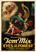 """Movie Posters:Western, Eyes of the Forest (Fox, 1923). Very Fine on Linen. One Sheet (28.25"""" X 41"""").. ..."""