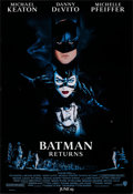 "Movie Posters:Action, Batman Returns (Warner Bros., 1992). Rolled, Very Fine. One Sheets (2) Identical (27"" X 40"") SS, Advance. John Alvin Artwork... (Total: 2 Items)"