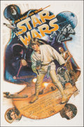 "Movie Posters:Science Fiction, Star Wars (Killian Enterprises, R-1987). Rolled, Very Fine+. Autographed and Numbered Limited Edition One Sheet (27"" X 41"") ..."