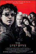 "Movie Posters:Horror, The Lost Boys (Warner Bros., 1987). Rolled, Very Fine. One Sheet (27"" X 40"") SS. John Alvin Artwork. Horror.. ..."