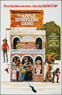 """The Apple Dumpling Gang & Other Lot (Buena Vista, 1975). Folded, Very Fine-. One Sheets (2) (27"""" X 41""""). P..."""