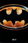 """Movie Posters:Action, Batman (Warner Bros., 1989). Rolled, Very Fine/Near Mint. One Sheet (27"""" X 40.5"""") SS, Advance. Action.. ..."""