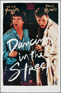 "Dancing in the Street (Music Motions, 1985). Folded, Very Fine-. One Sheet (27"" X 41"") SS. Rock and Roll"