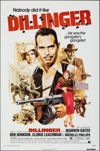 "Dillinger & Other Lot (American International, 1973). Folded, Very Fine. One Sheets (4) (27"" X 41"" & 2..."