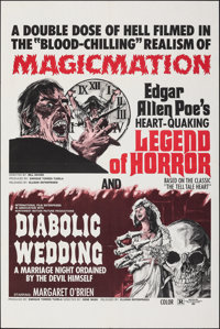 Legend of Horror/Diabolic Wedding Combo & Other Lot (Ellman Enterprises, 1972). Folded, Very Fine. One Sheets (2) (2...