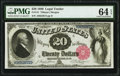 Large Size:Legal Tender Notes, Fr. 141 $20 1880 Legal Tender PMG Choice Uncirculated 64 EPQ.. ...