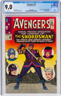 Silver Age (1956-1969):Superhero, The Avengers #19 (Marvel, 1965) CGC VF/NM 9.0 White pages....