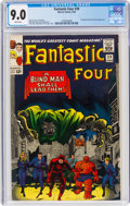 Silver Age (1956-1969):Superhero, Fantastic Four #39 (Marvel, 1965) CGC VF/NM 9.0 White page...