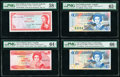 East Caribbean States Currency Authority 1 Dollar ND (1965) Pick 13g PMG Choice About Unc 58 EPQ; Central